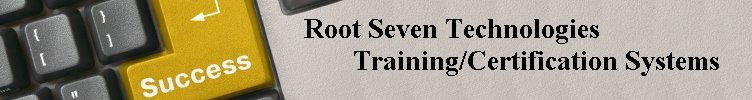 Root Seven Training and Testing Software